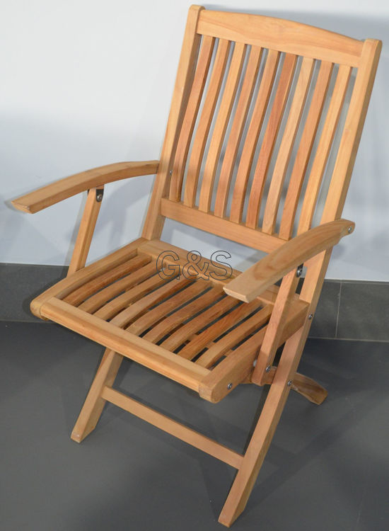 "Picture of FOLDING CHAIR "" BALI  ARM """